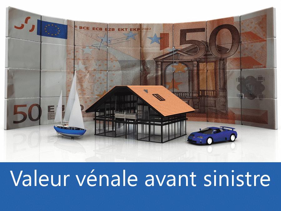 Valeur vénal avant sinistre Arras, valeur des biens assurance 62, expert valeur vénale Lens,
